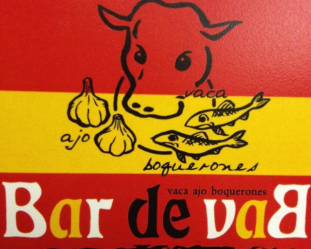 スペインバルBar de vaB