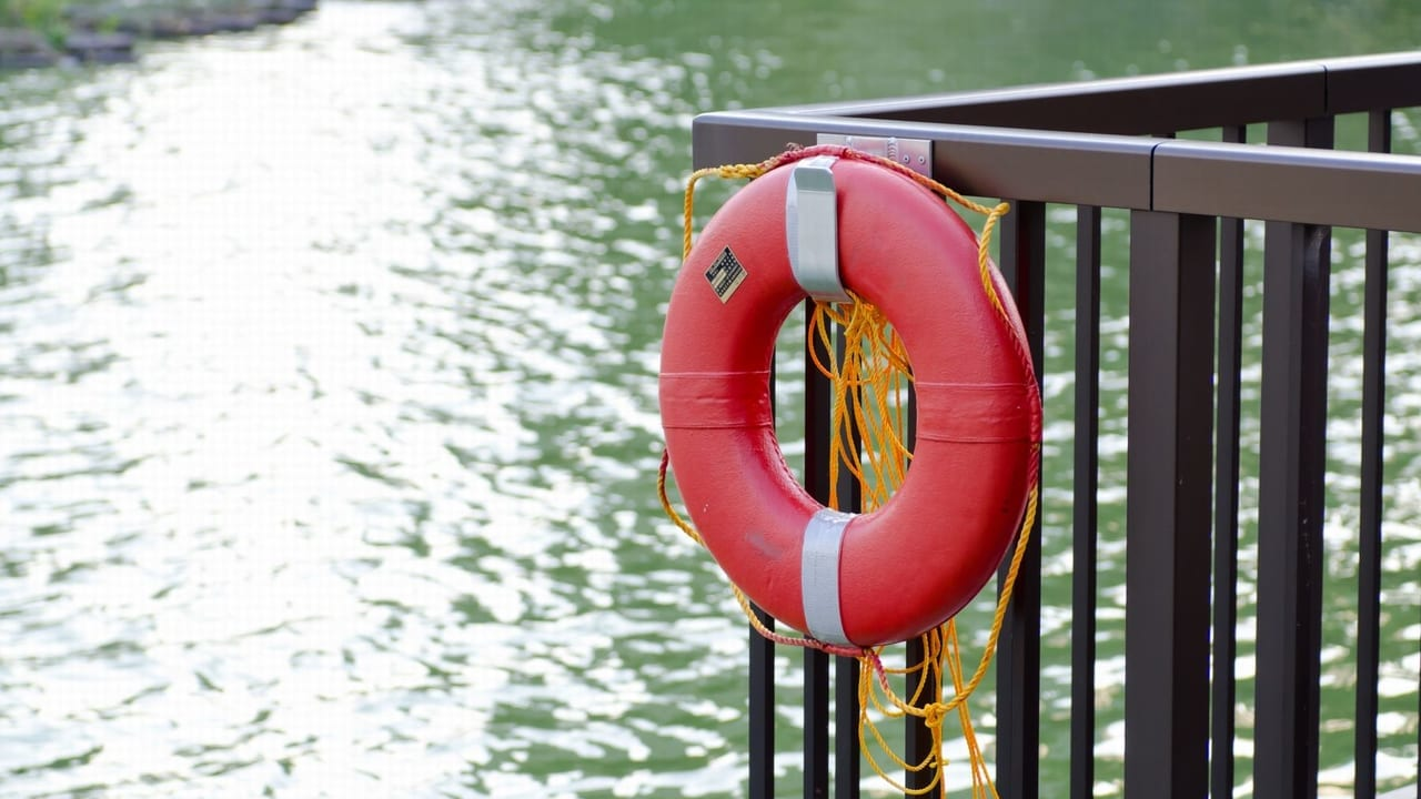 【西区】水難事故の可能性、2019年6月11日(火)日吉橋に緊急車両が集まっていた模様です