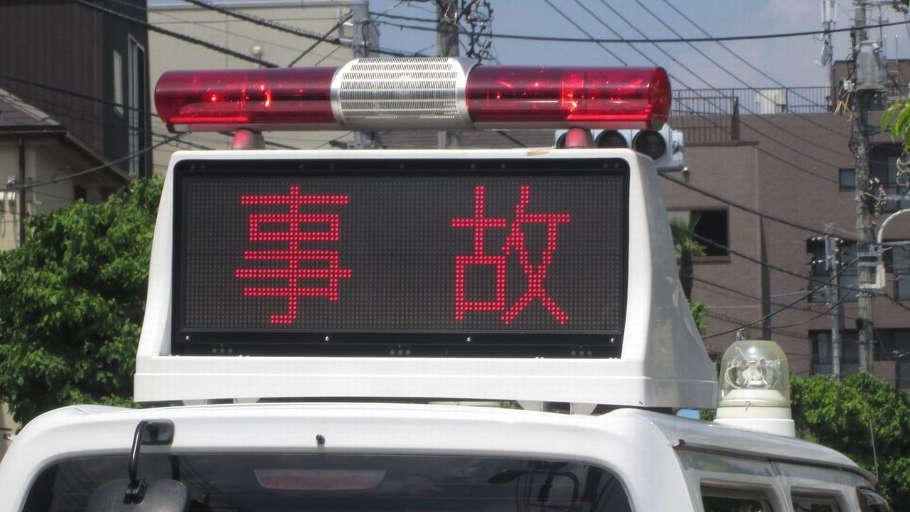 【西区】軽自動車が横転、2019年7月15日阿波座付近で交通事故が発生していた模様です